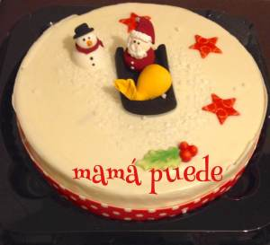 tarta cena de navidad