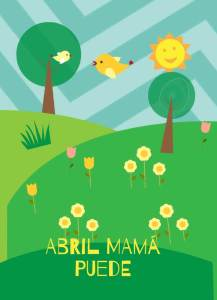 abril mamá puede