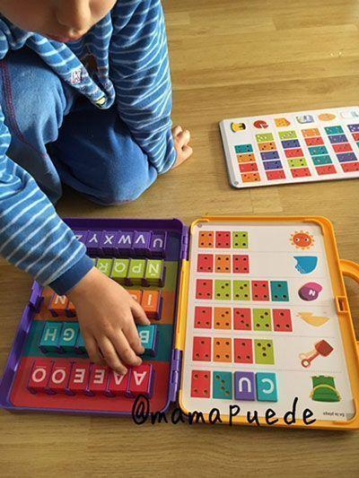 juego para aprender las letras