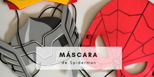 Máscara de Spiderman, DIY
