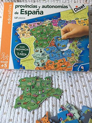 puzzle de españa