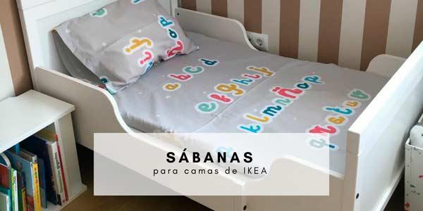 Sábanas para camas pequeñas de IKEA