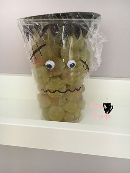 fruta para halloween