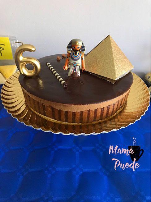 tarta para un cumpleaños de egipto