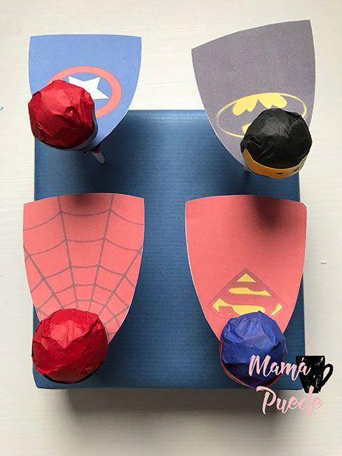 chupachups de superhéroes