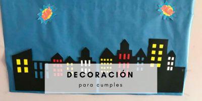 ideas de decoración para cumpleaños