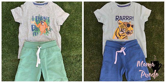 ropa barata de niños para el verano