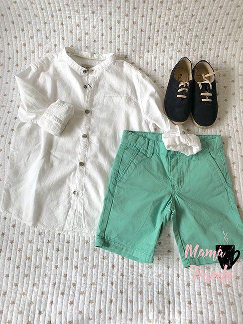 ropa formal para niños