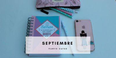 septiembre y el nuevo curso