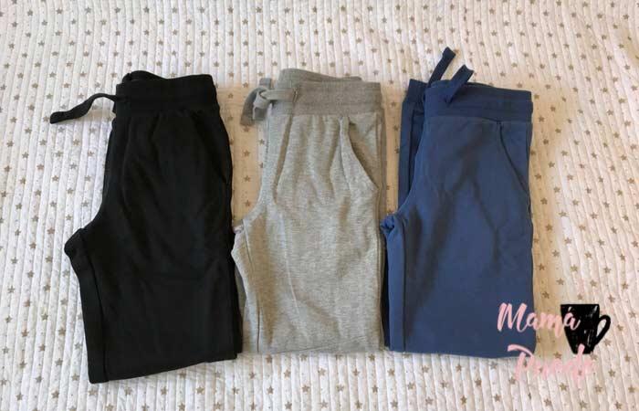 pantalones de algodón para niños