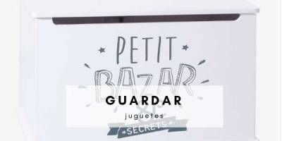 ideas para guardar juguetes