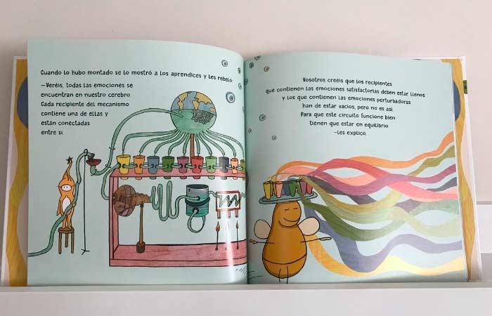 libro sobre las emociones, los abracadabrantes