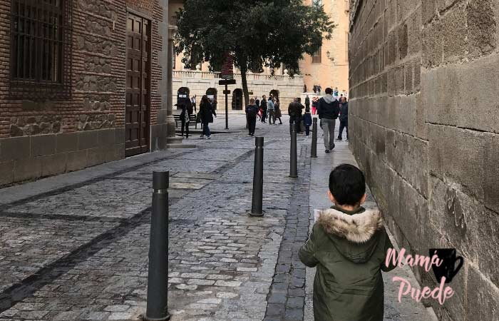 Pasear por Toledo con niños