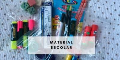 productos de material escolar