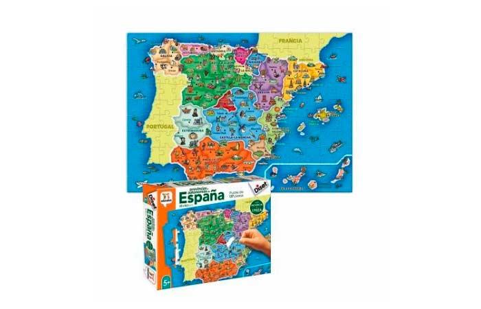 puzzle españa por provincias