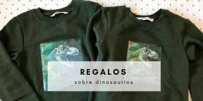 ideas de regalos sobre dinosaurios