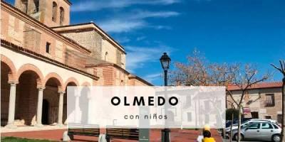 Olmedo con niños (Valladolid)