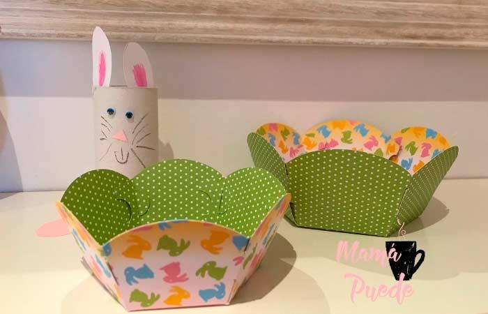 cestas decorativas de pascua