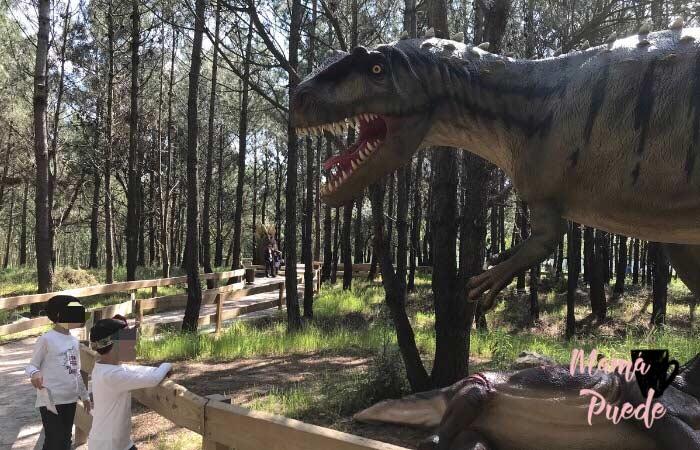 parque de dinosaurios