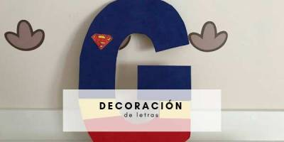 ideas para decorar letras