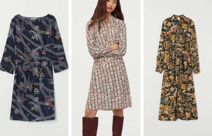 Modelos estampados de H&M