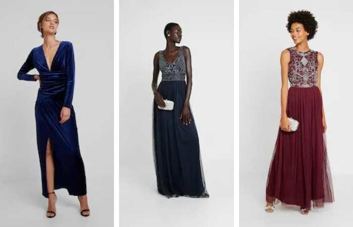 opciones de vestidos largos