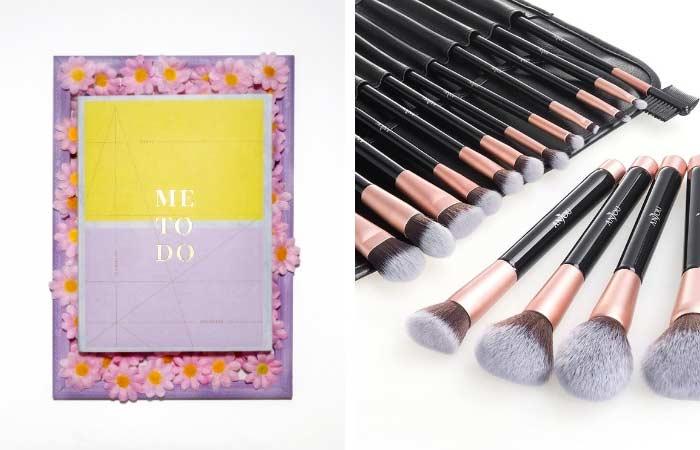 ideas de regalo para los 40, brochas de maquillaje, ME-TO-DO