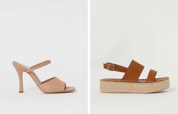 sandalias y esparteñas