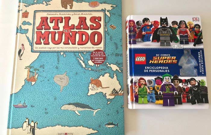 Atlas del mundo y super heróes