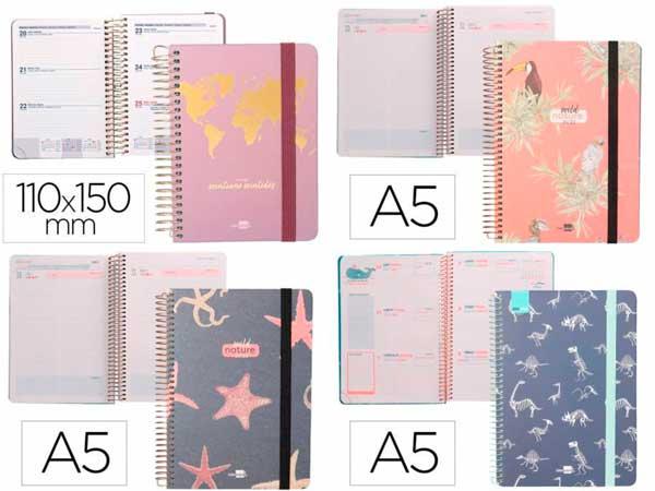 agendas escolares y libretas