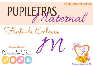 Pupiletras Maternal: Maternidad con la Letra M
