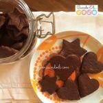 Galletas de mantequilla con sabor a chocolate