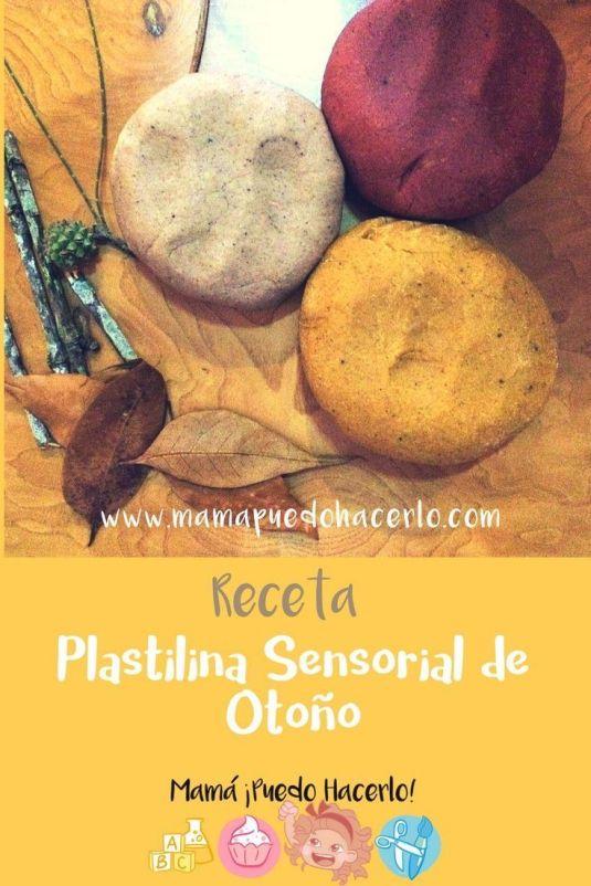 Plastilina Sensorial de Otoño