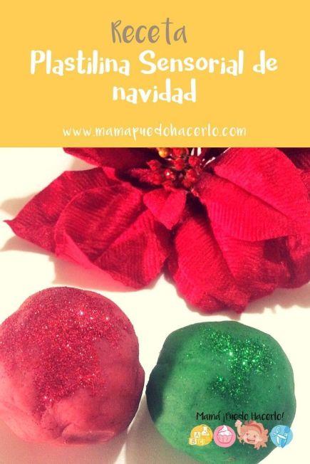 Plastilina Sensorial de Navidad