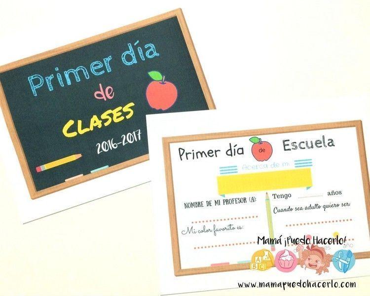Ideas para recordar el primer día de clases - Mamá ¡Puedo Hacerlo!