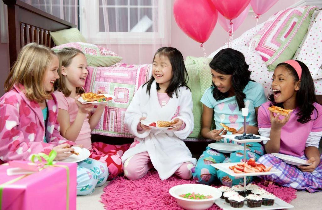 ideas de fiestas de pijamas para niñas