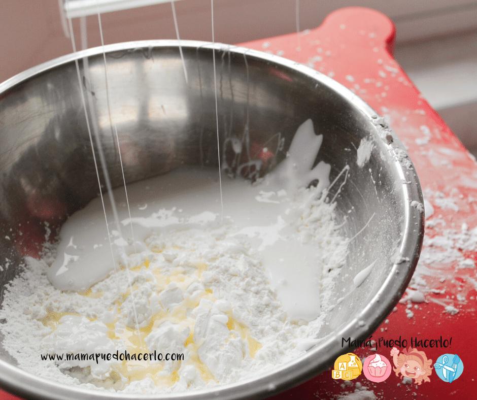 porcelana fría para niños ingredientes