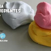 plastilina de 2 ingredientes