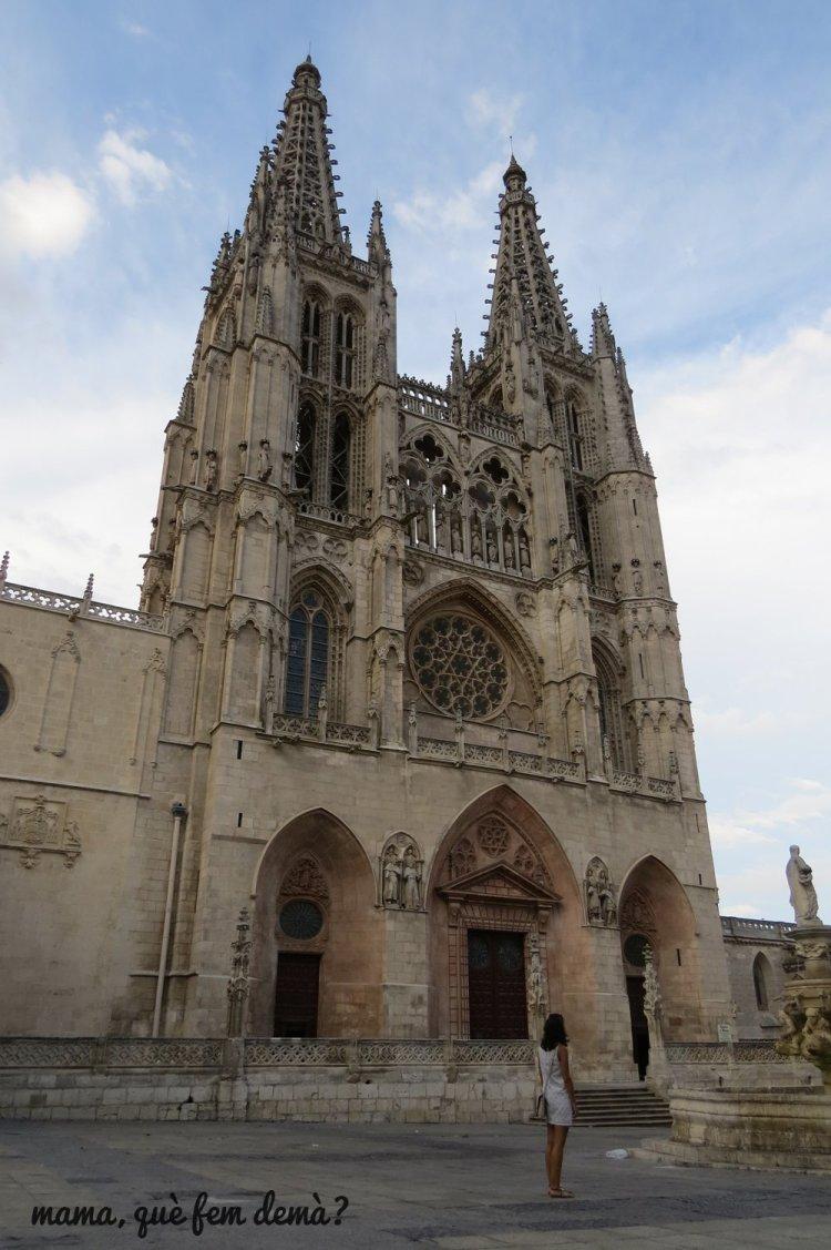 exterior de la catedral de burgos