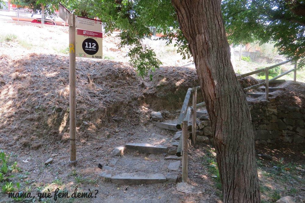 inicio excursión castellfollit roca