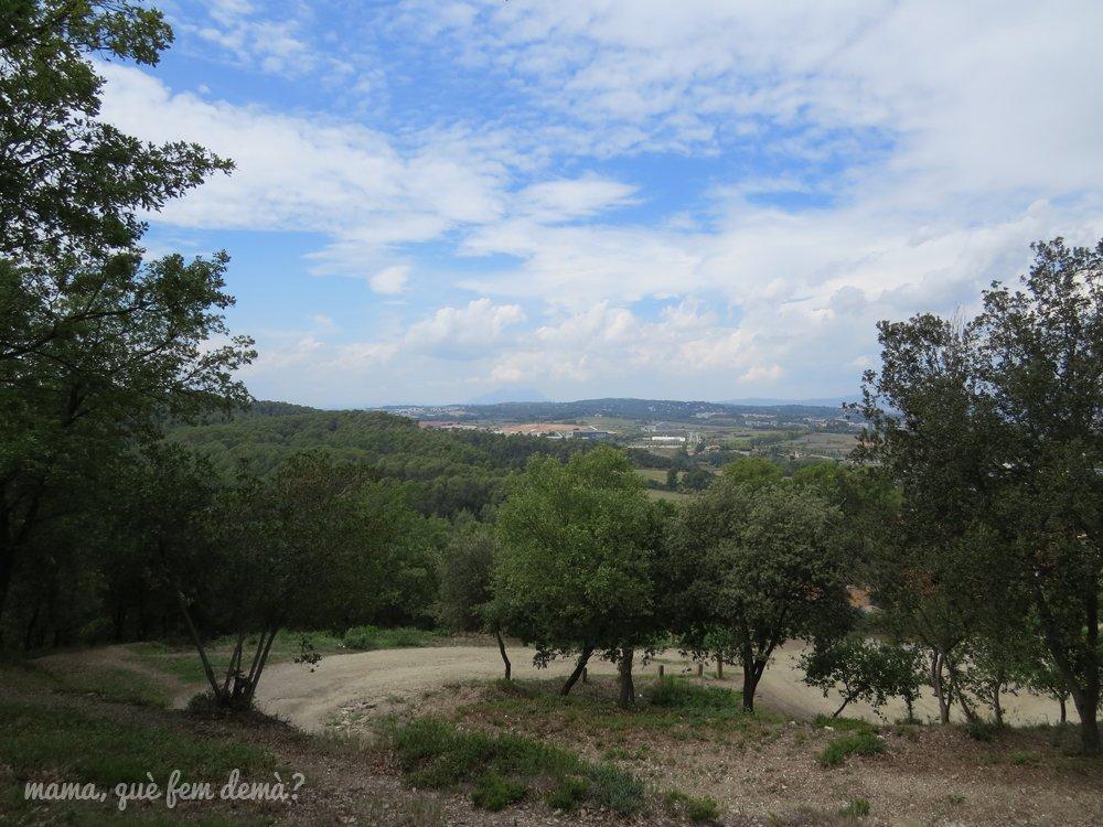 Vistas desde la excursión al Puig de la Guàrdia de Cerdanyola del Vallès