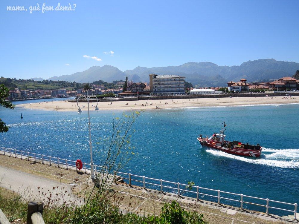 playa de santa marina de ribadesella