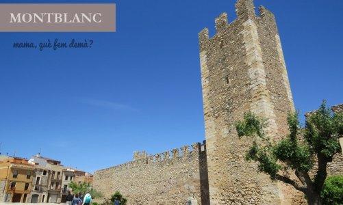 Montblanc, un precioso pueblo medieval