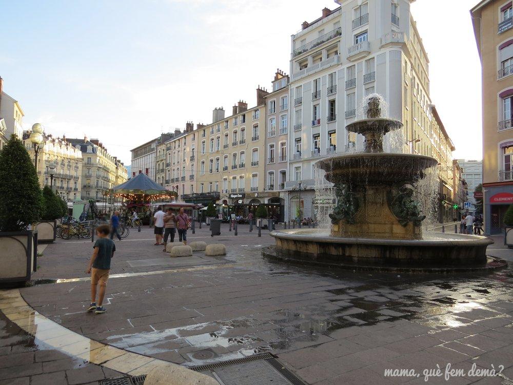 Plaza Grenette de grenoble