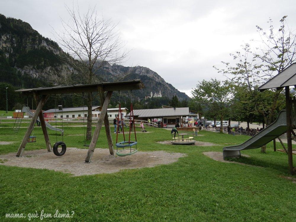 parque infantil de tegelbergbahn
