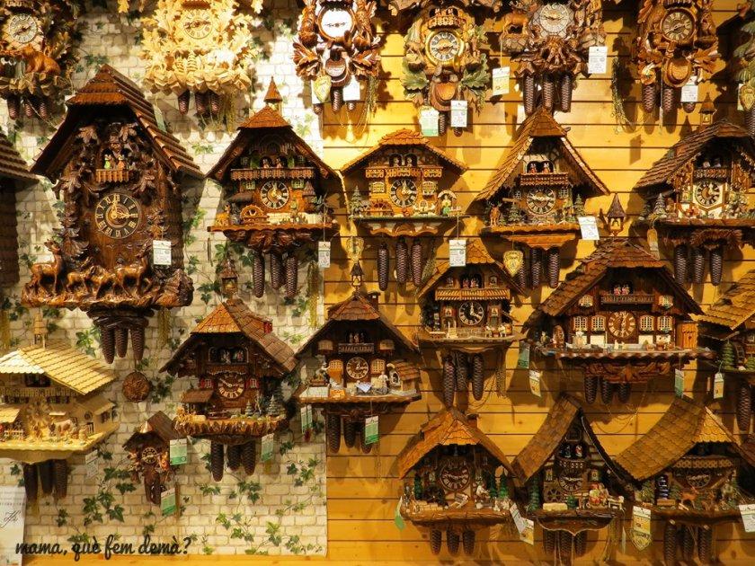 relojes de cuco en Triberg