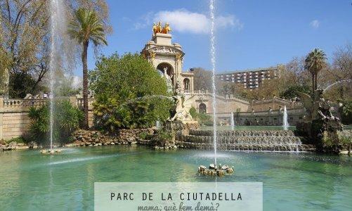 El Parc de la Ciutadella de Barcelona con niños