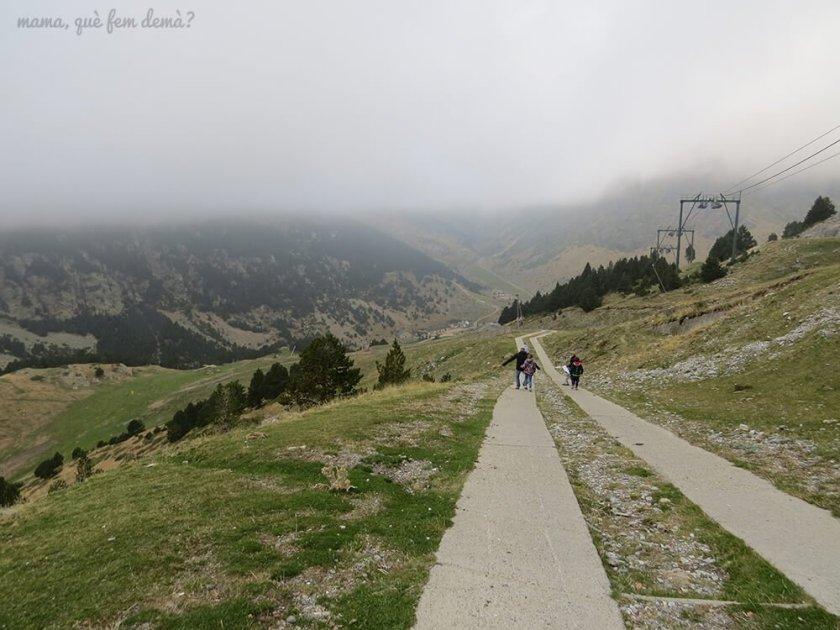 Via crucis de la Vall de Núria