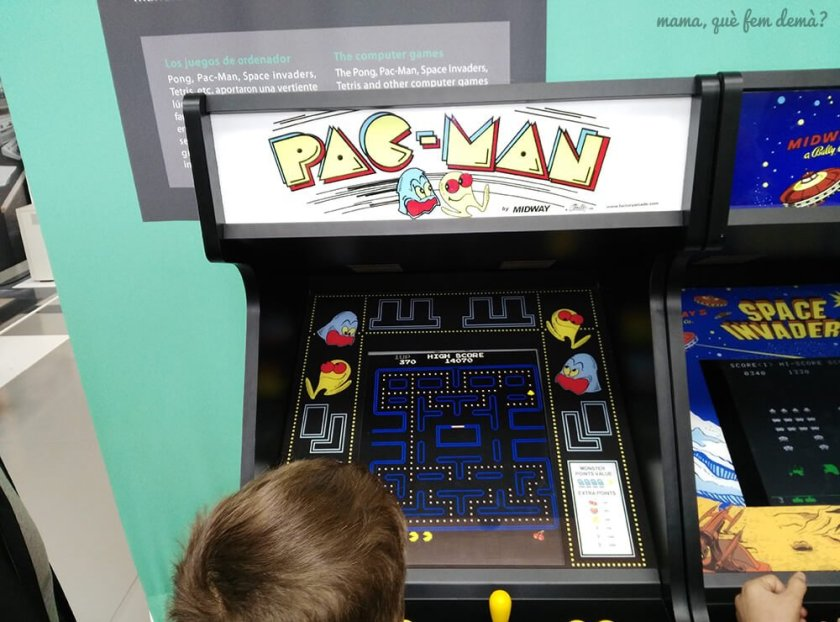 maquina de PAC-MAN em el mNACTEC