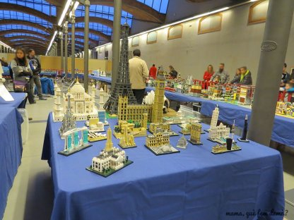 Edificios emblemáticos de LEGO.